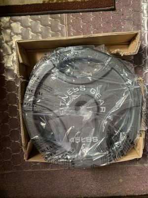 NEW OLYMPIC PLATES 2-45 Lbs for Sale in Chicago, IL