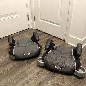 Greco Backless Booster Car Seat (2) for Sale in Alexandria, VA