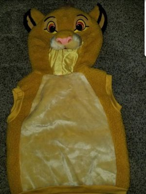 Simba costume size 4-6 for Sale in Fontana, CA