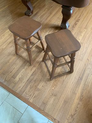 Wooden stools for Sale in St. Louis, MO