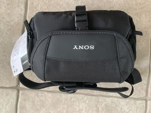 Sony LCS-U21 soft camera case for Sale in Tampa, FL