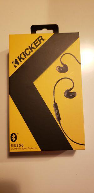 Kicker earbuds eb300 NEW for Sale in Miami, FL