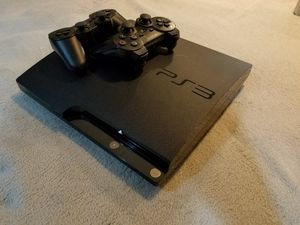 Playstation 3 250g Harddrive with 2 controllers for Sale in Silverdale, WA