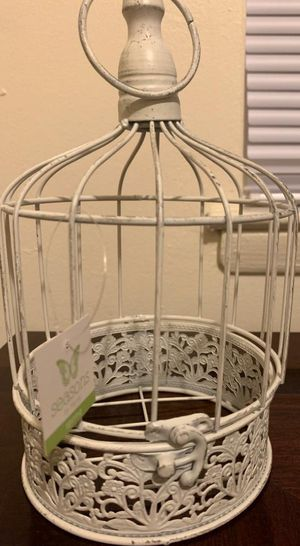 SET OF 2 SEASONS BY NICOLE BIRD CAGES for Sale in Allentown, PA