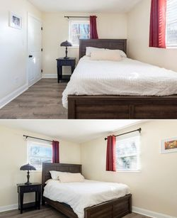 Bed Frame, Box Spring, And Mattress for Sale in Boston,  MA