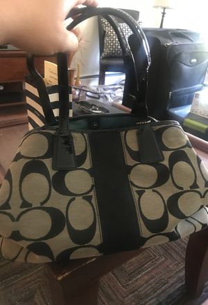 Large coach bag for Sale in Boston, MA