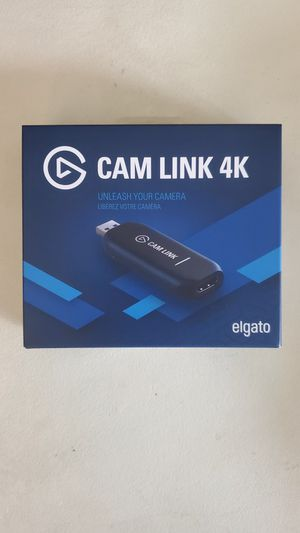 Elgato cam link 4k for Sale in San Francisco, CA