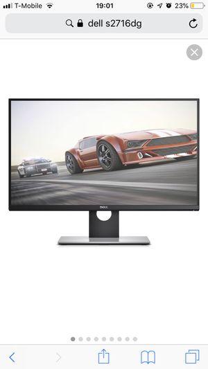 Dell 27inch monitor for Sale in Santa Clara, CA