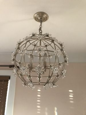 "CURREY & COMPANY C9849 ""FLEUR ORB"" ENTRANCE / FOYER PENDANT for Sale in Denver, CO"