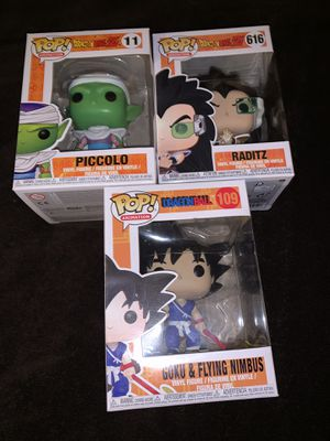 Dragon ball and dragon ball z funko pops for Sale in Las Vegas, NV