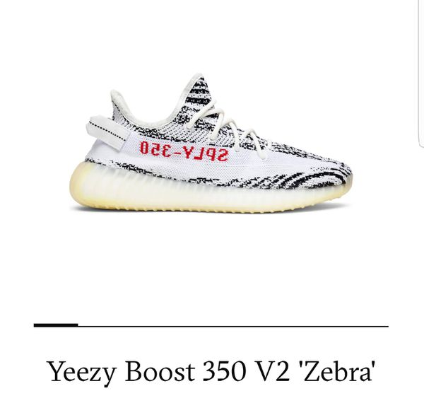 0ff93427c Yeezy boost zebras for Sale in Federal Way