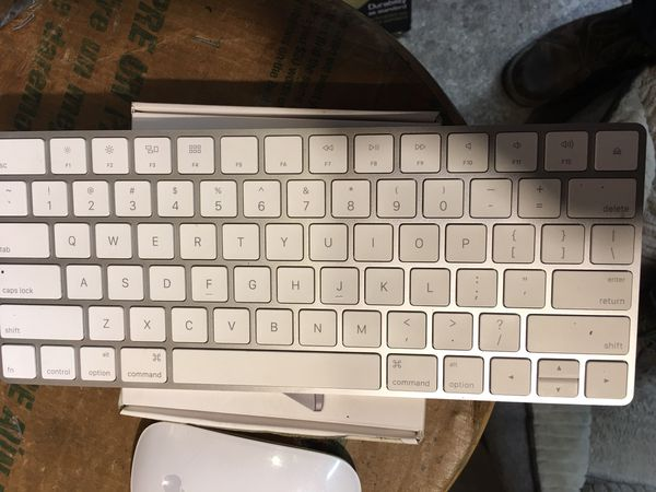 apple wireless keyboard mouse trackpad for sale in seattle wa offerup. Black Bedroom Furniture Sets. Home Design Ideas