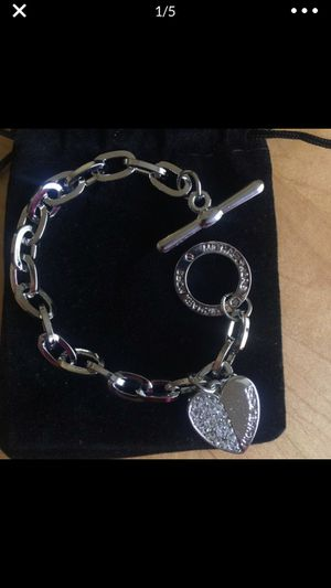 Mk Michael kors heart bracelet for Sale in Spencerville, MD