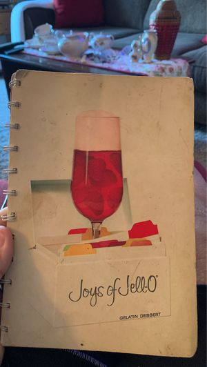 Joys of Jell-O cook book for Sale in Wyoming, MI