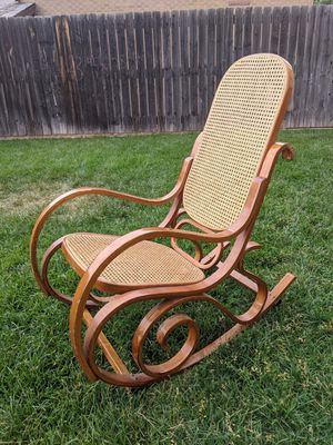 Antique Wicker Rocking Chair for Sale in Denver, CO