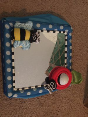 Baby crib mirror and lot of misc toys for Sale in North Augusta, SC
