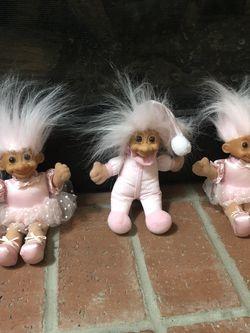Vintage Pink Troll Dolls for Sale in Mukilteo,  WA