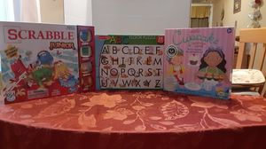 Three like new game and puzzles. for Sale in Hollywood, FL
