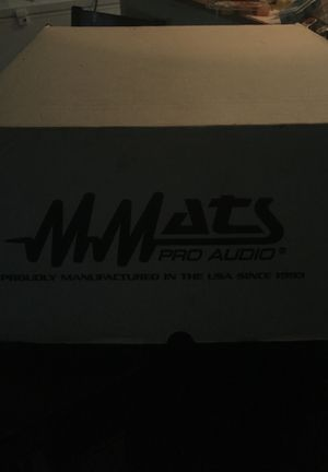 "Mmats pro audio 15"" subwoofer for Sale in West Palm Beach, FL"