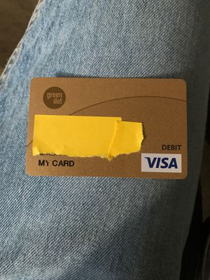 Green dot card with $20 for Sale in Tracy, CA