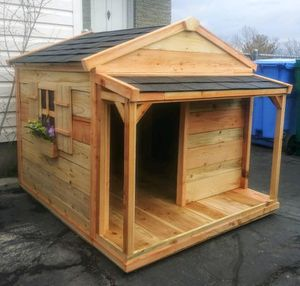 New Solid Wood XL Dog House for Sale in Riverton, UT