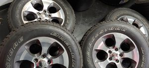 """4- 18"""" jeep wrangler rims and tires for Sale in Chelsea, MA"""