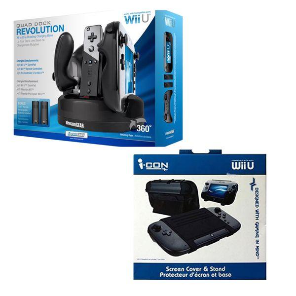 Nintendo Wii U Accessories Bundle