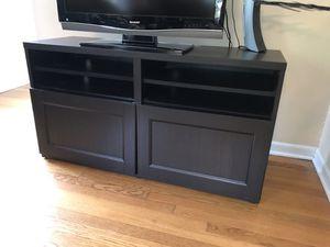 IKEA TV Storage Unit - Dark Brown for Sale in Prairie View, IL