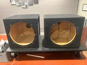 12 subwoofer speaker boxes for Sale in Chula Vista, CA