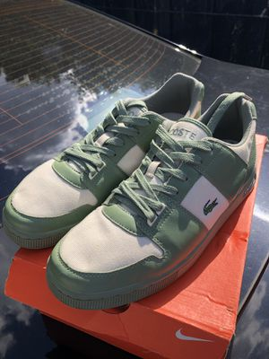 Lacost - Leather & Canvas Sneaker - size 13 for Sale in McLean, VA