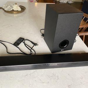 LG SJ2 Soundbar and Subwoofer for Sale in Portland, OR