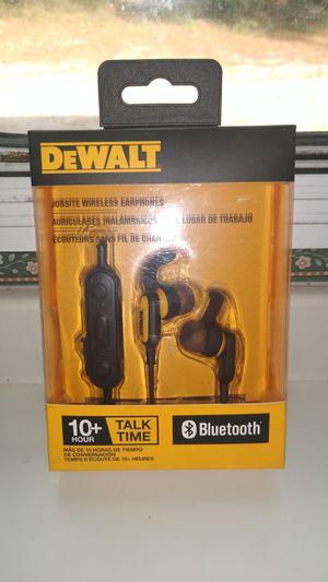 Dewalt jobsite wireless earphones for Sale in Summerfield, FL