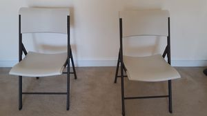 2 Foldable chairs for Sale in Herndon, VA