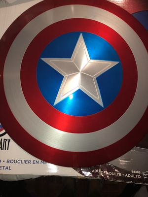 Captain America Metal Shield 75th anniversary for Sale in Bell, CA