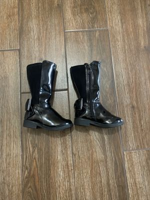 Black boots baby girl for Sale in Fontana, CA