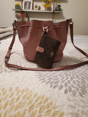 Coach bag and matching wallet for Sale in Oakdale, CA