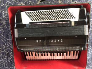 Excelsior full size acoustic and electric vintage accordion for Sale in Fremont, CA