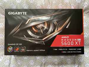 *NEW* GIGABYTE RX 5600 XT GAMING OC 6G *NEW* for Sale in Los Angeles, CA