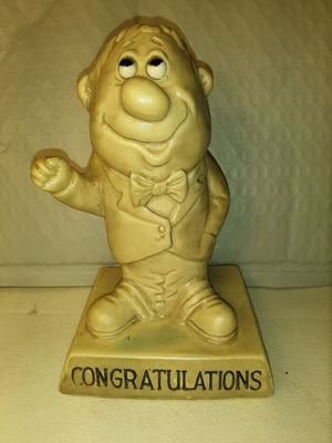 "RUSS BERRIE & WALLACE BERRIE ""CONGRATULATIONS"" STATUE for Sale in Charlotte, NC"