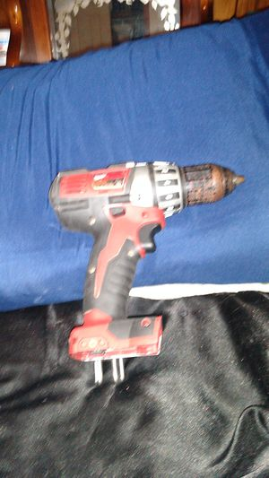 Milwaukee 1/2 inch 13 mm driver drill 18 volt red lithium drill NO BATTERY DRILL ONLY for Sale in Stone Mountain, GA