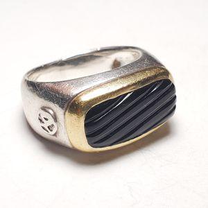 David Yurman East West Onyx Signet Ring for Sale in Winston-Salem, NC