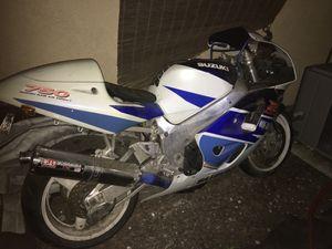 Suzuki (YR:1997.-750 R GSX Motorcycle for Sale in Sunnyvale, CA