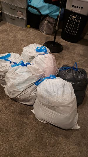 6 bags of clothes!! Mostly mens Large for Sale in Chula Vista, CA