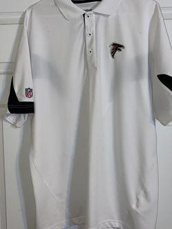 Reebok Golf Shirt, Atlanta Falcons, Large, $10 for Sale in Marietta,  GA