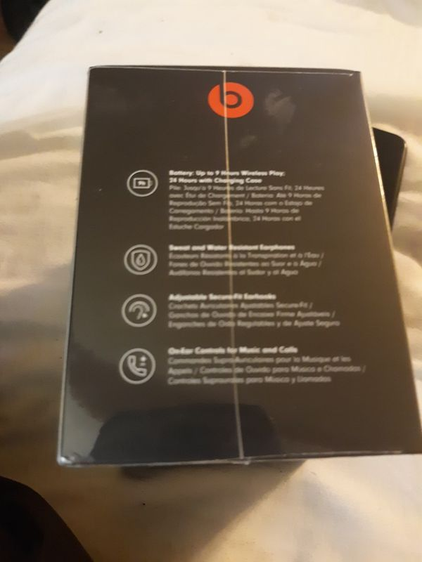 BRAND NEW/UNOPENED BLUETOOTH POWER BEATS HEADPHONES BY DRÉ