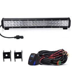25″ Led Light Bar TURBOSII 162W Flood Spot Combo Light Bar Driving Lights Work Off Road Lights For Truck Toyota Trailer Suzuki Eiger Boat Mower for Sale in Ontario,  CA