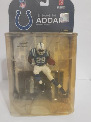 2008 McFarlane Toys Joseph Addai #29 Indiannapolis Colts Sports Pick Debuts for Sale in St. Petersburg, FL