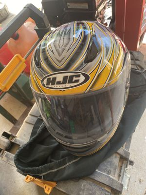 Hjc motorcycle helmet for Sale in South Amherst, OH