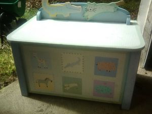 Kids toy box for Sale in Browns Mills, NJ