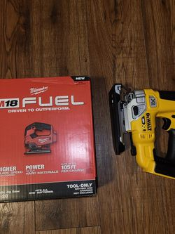 Milwaukee Or Dewalt Jig Saw New Only Tool for Sale in Smyrna,  TN